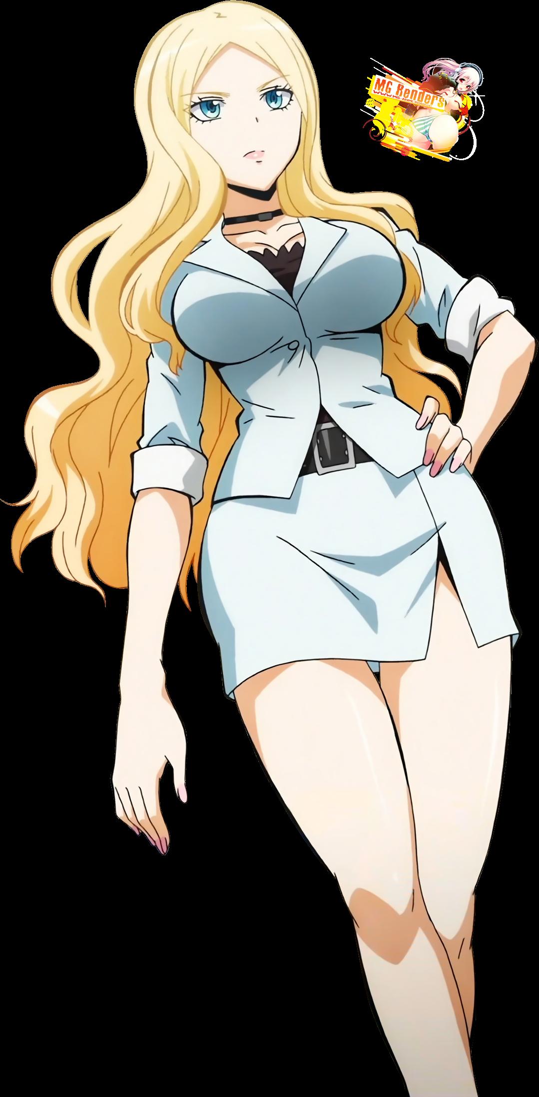Ansatsu Kyoushitsu - Irina Jelavic Render 2 - Anime - PNG